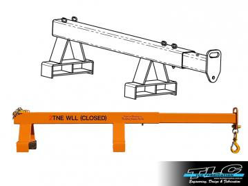 Forklift Jibs and Attachments