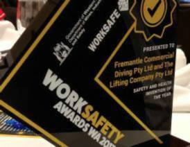 Winner of the WorkSafety Invention of the Year 2017