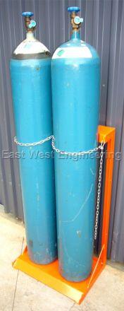 TST2 Gas Cylinder Storage Rack (2 Bottles)