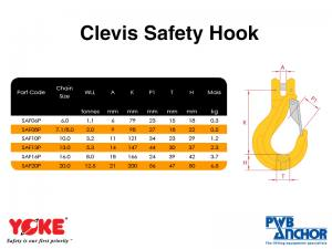 Safety Hook (Pinlok - Self-Locking)   Lifting Equipment   Forklift Equipment   The Lifting Company