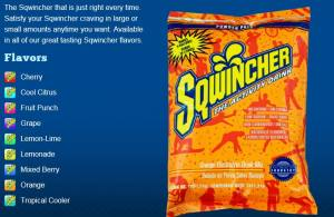 Sqwincher the active drink