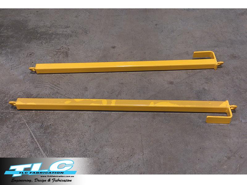 2tne Pallet Lifting Bars (pair)