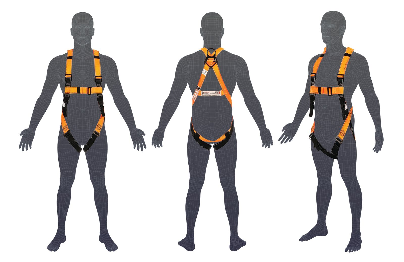 H101 LINQ Basic Full Body Harness