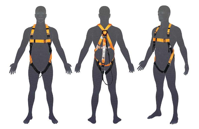 H105 LINQ Basic Full Body Harness with Lanyard