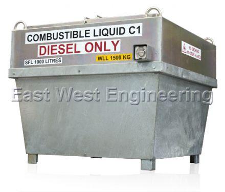 DC125 Diesel Fuel Transfer Tank & Enclosure