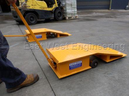 ETR Forklift and Truck Maintenance Ramp Set